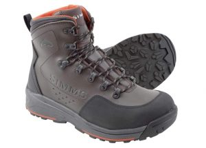 Simms Men's Freestone Wading Boots, Waterproof Rubber Sole