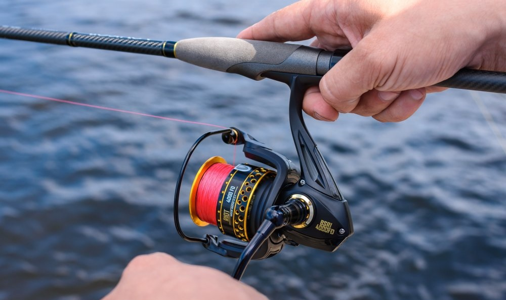 FISHING REEL WEIGHT