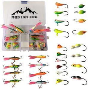 Frozen Lines Ice Fishing Jigs